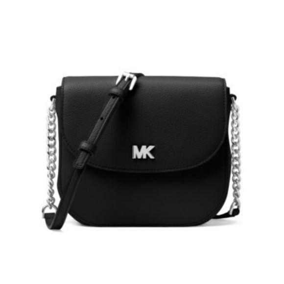 d6adc5ce204cb MK Mott leather dome crossbody bag. NWT. Michael Kors